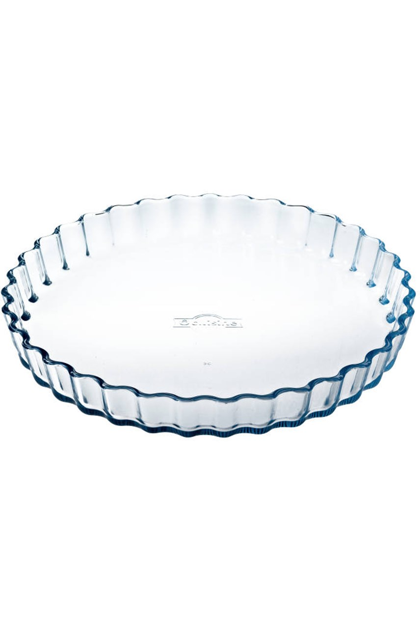 Fluted Round Dish