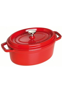 Oval Cocotte CHERRY RED 1