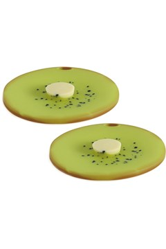 Kiwifruit Drink Cover Set of 2 GREEN 1