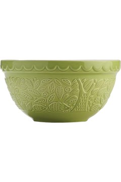 Embossed Hedgehog Mixing Bowl GREEN 1