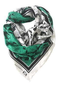 The O'Brien Scarf GREEN WHITE 1