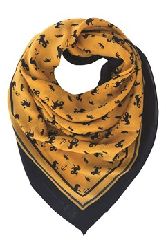 The Shaw Scarf YELLOW 1