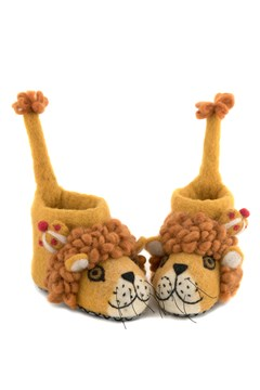 Leopold The Lion Slipper 1