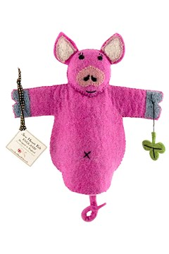 Percy Pig Hand Puppet 1