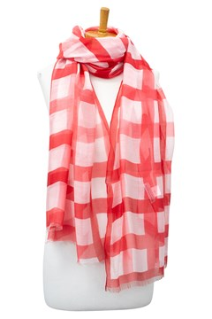 Set It Up Rose Scarf - rose