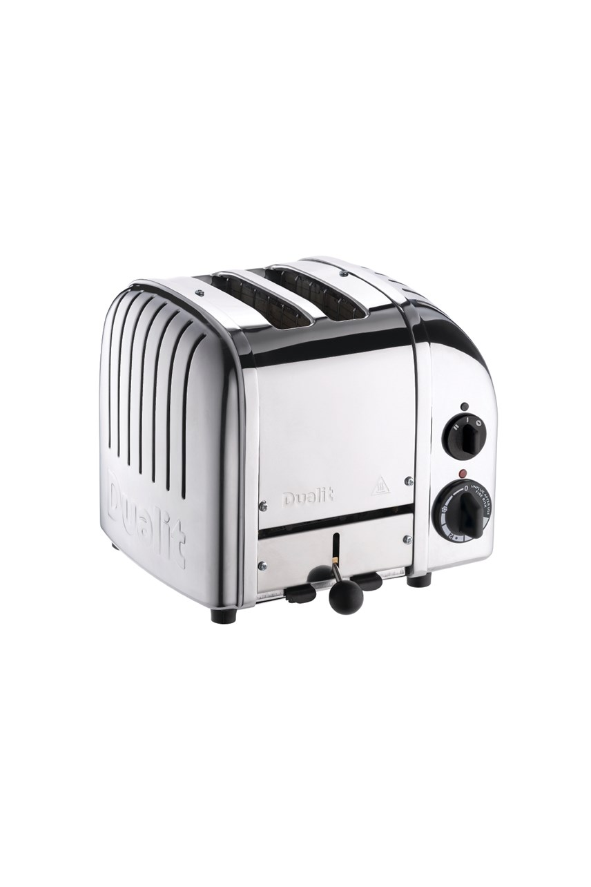 2 Slice Polished Stainless Toaster