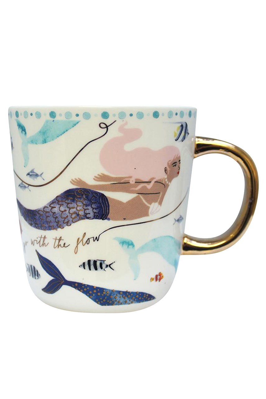 By The Sea Mermaid Tea Cup