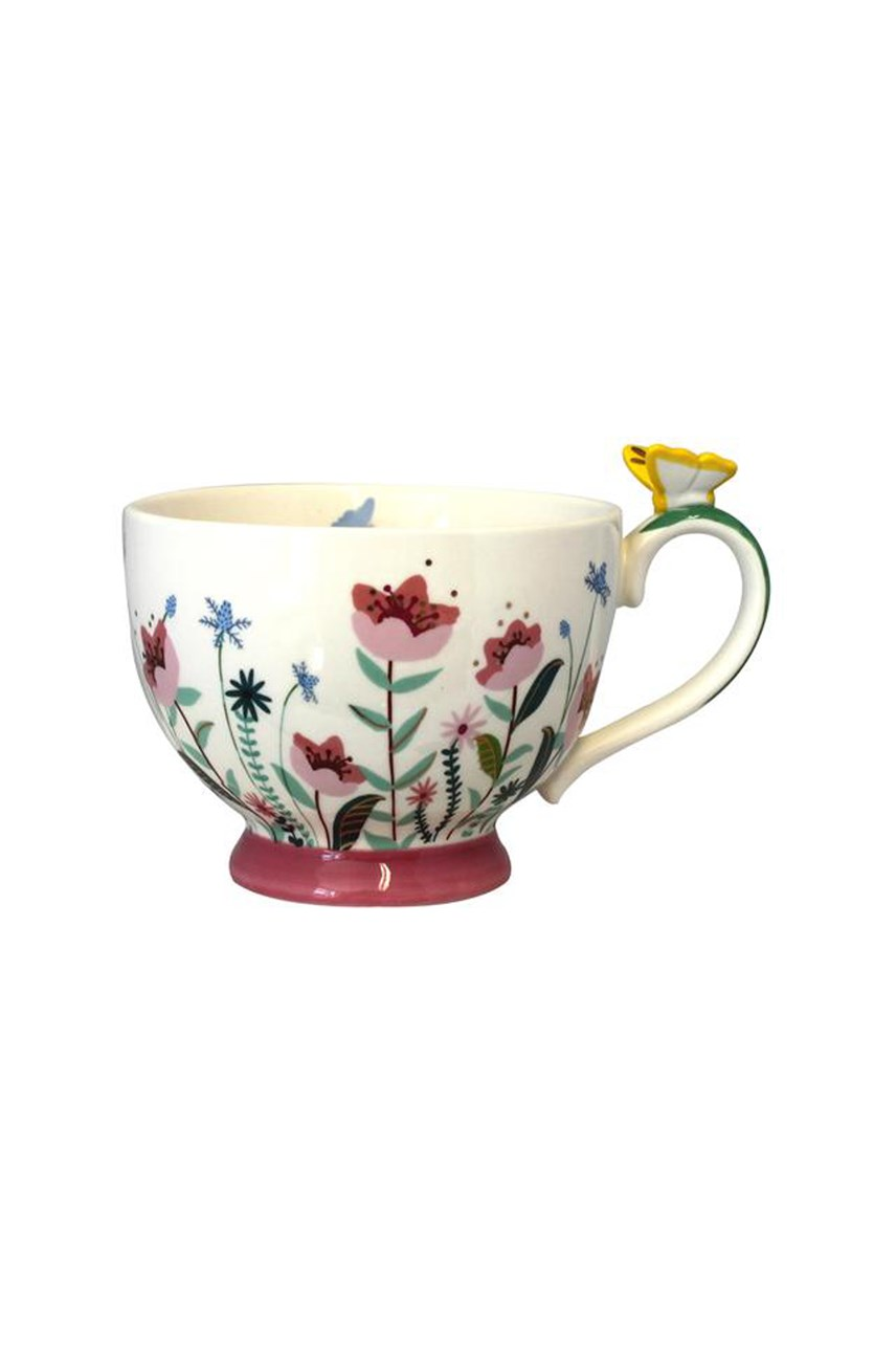 Secret Garden Flower Tea Cup