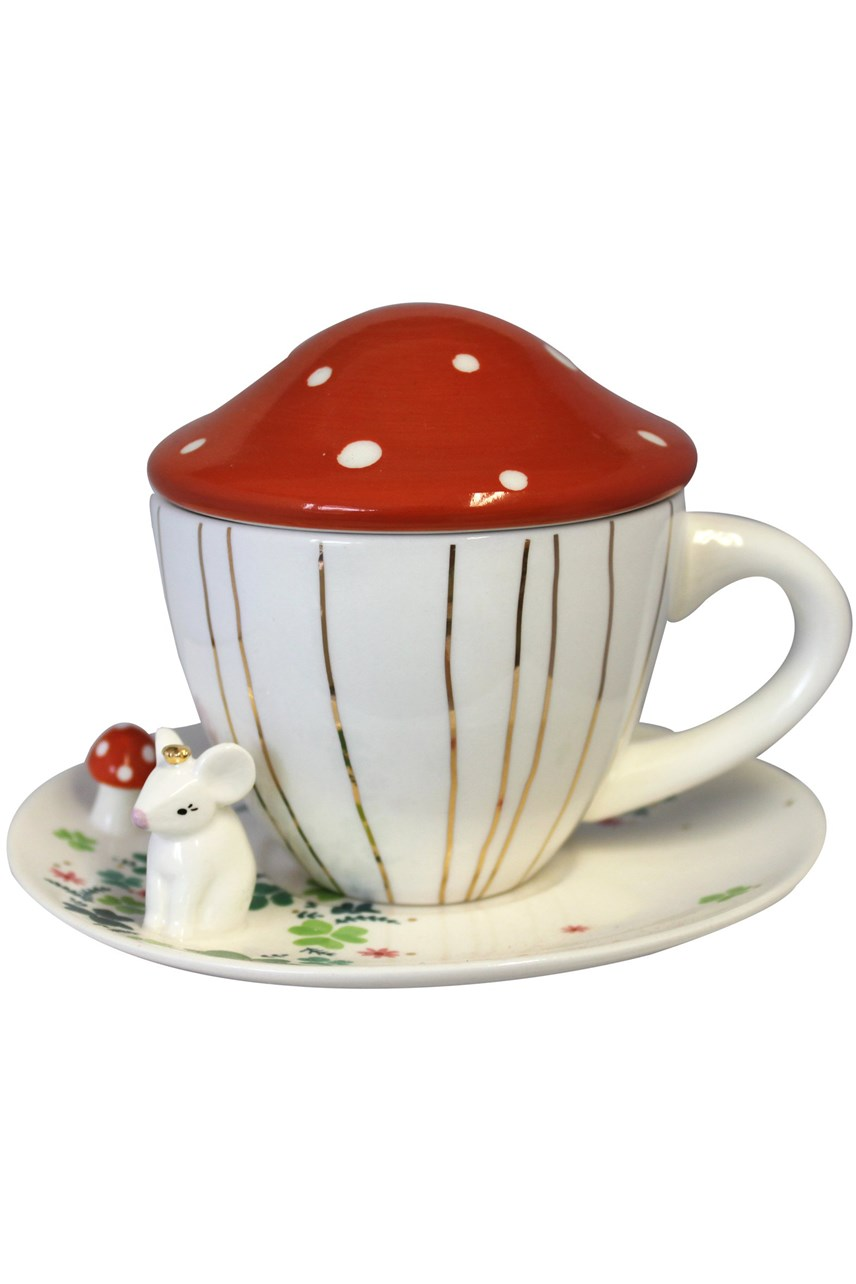 Secret Garden Mouse Tea Cup