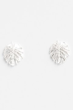 Monstera Earrings 1