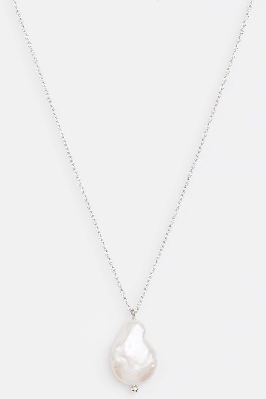 Silver with Freshwater Pearl Necklace