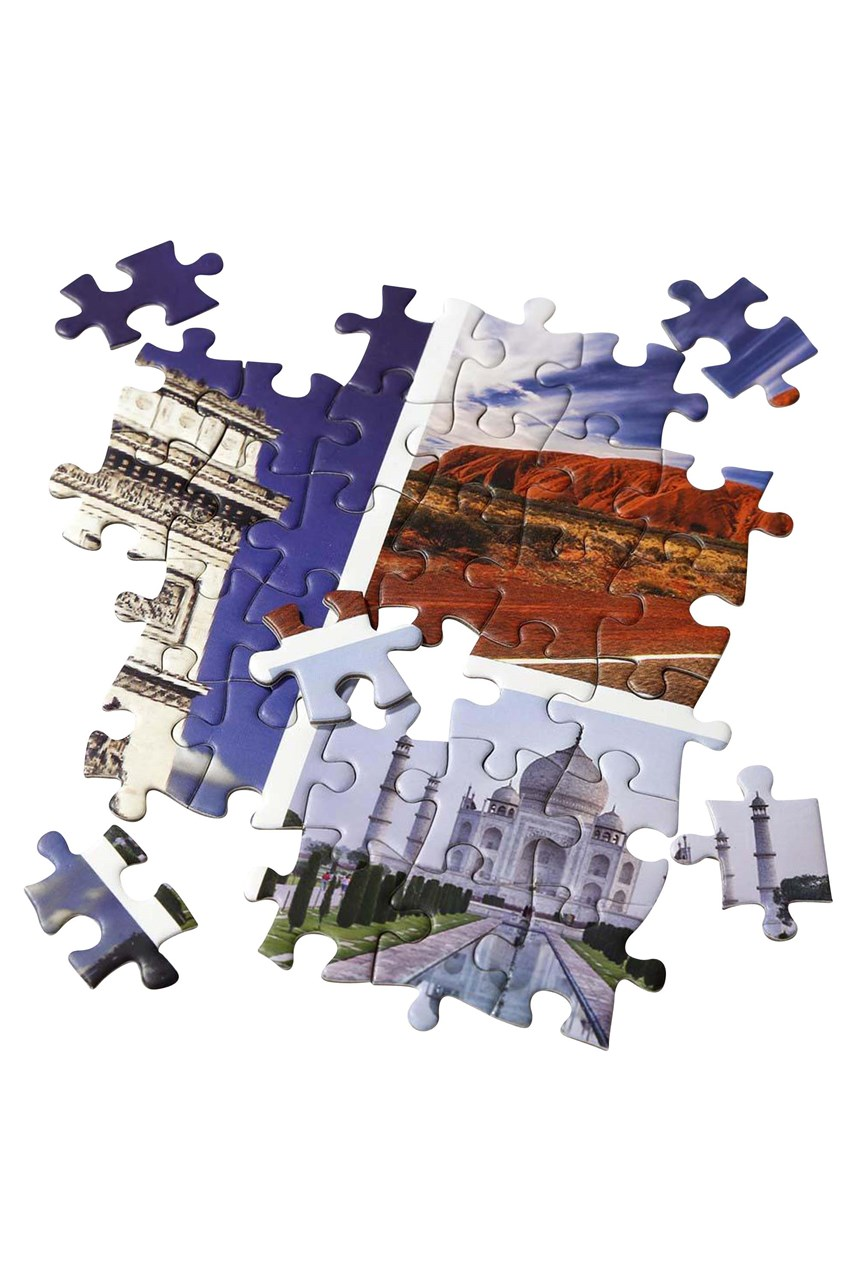 Worldly Wise Landmark Puzzle - 1000pce