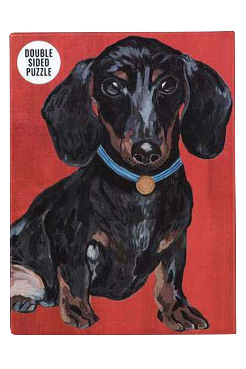 Dachshund Double-Sided Puzzle - 100pce
