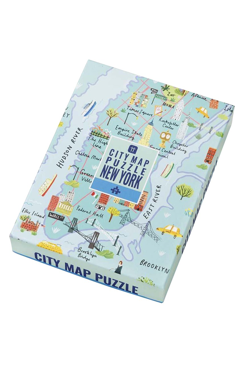 New York Map Puzzle - 250pce