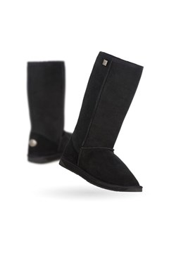 Stinger Hi Sheepskin Boot BLACK 1