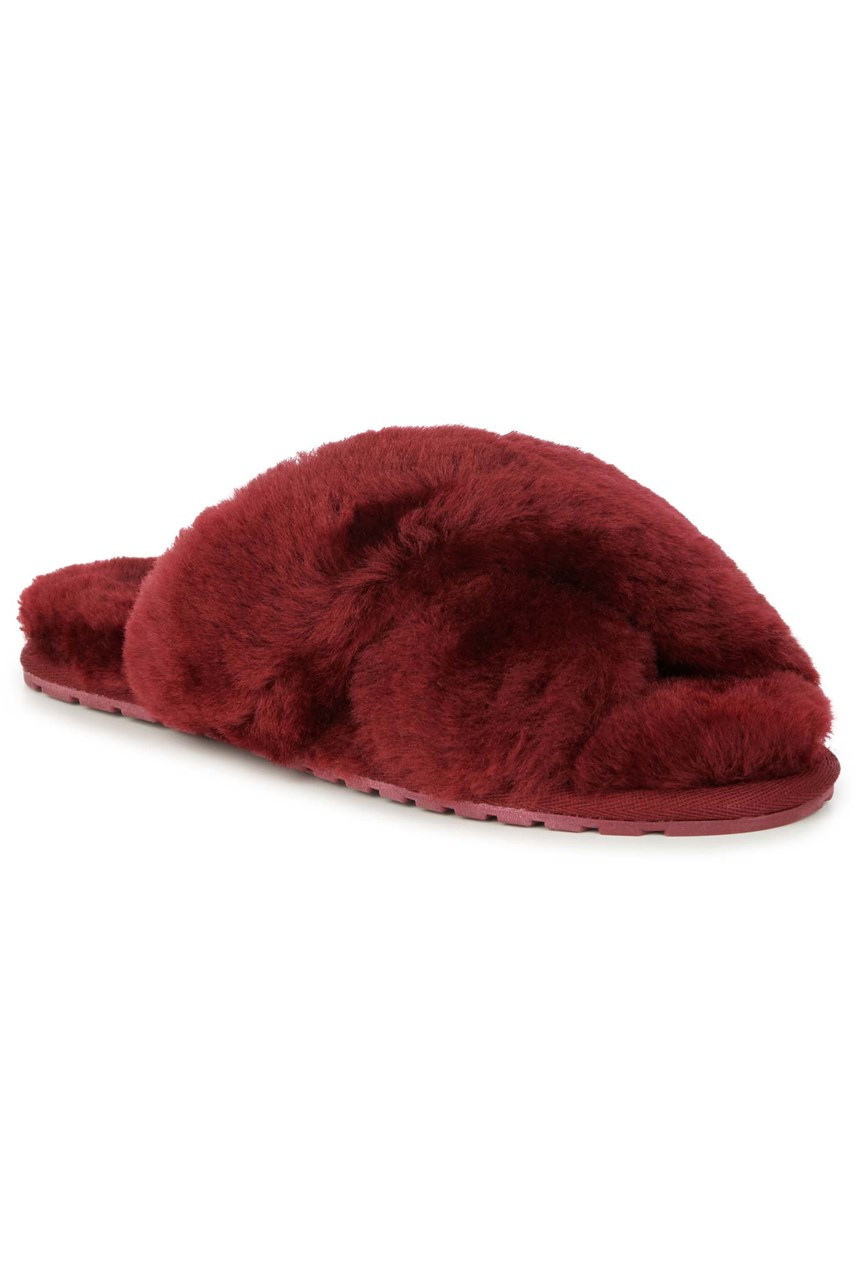 Mayberry Red Wine Slipper