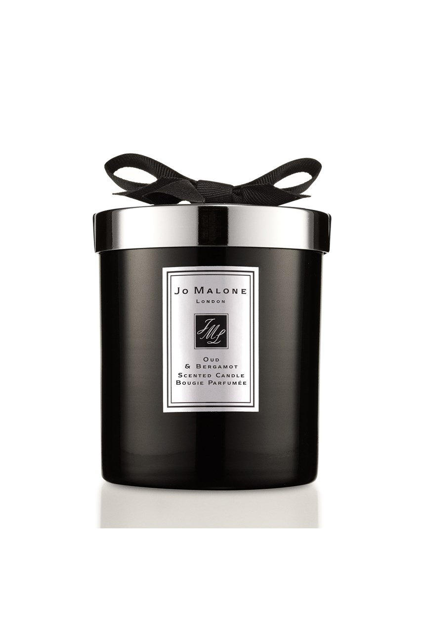 Oud & Bergamot Home Candle Intense