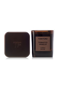 Tobacco Vanille Candle and Cover Set -