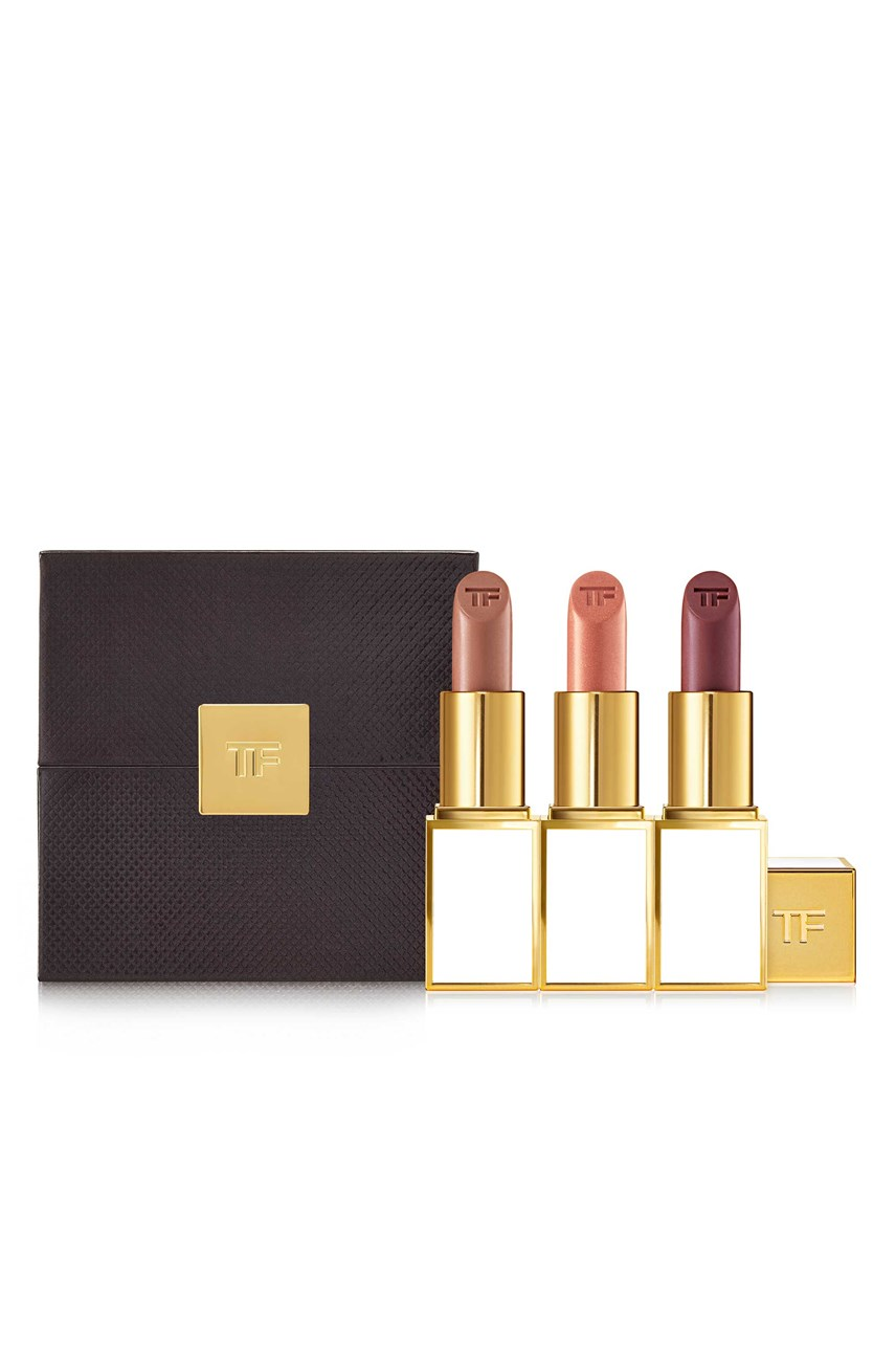 Lip Color 3 Piece Set Exclusive - Nude to Mauve