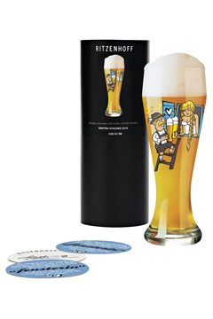 Wheat Beer Glass by Martina Schlenke 1