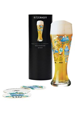 Wheat Beer Glass by Sascha Morawetz 1