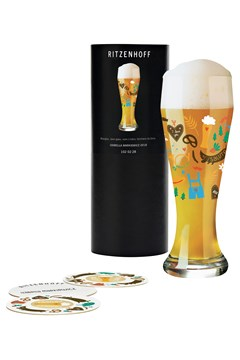 Wheat Beer Glass by Izabella Markiewicz 1