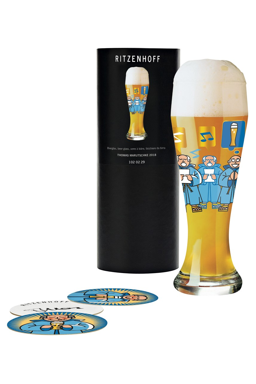 Wheat Beer Glass by Thomas Marutschke