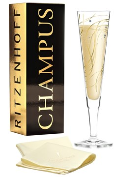 Champus Champagne Flute by Asobi 1