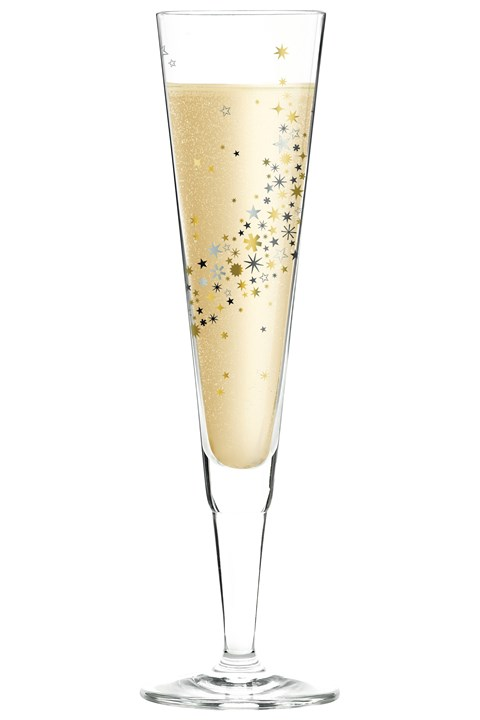 Champus Champagne Flute by Iris Interthal -