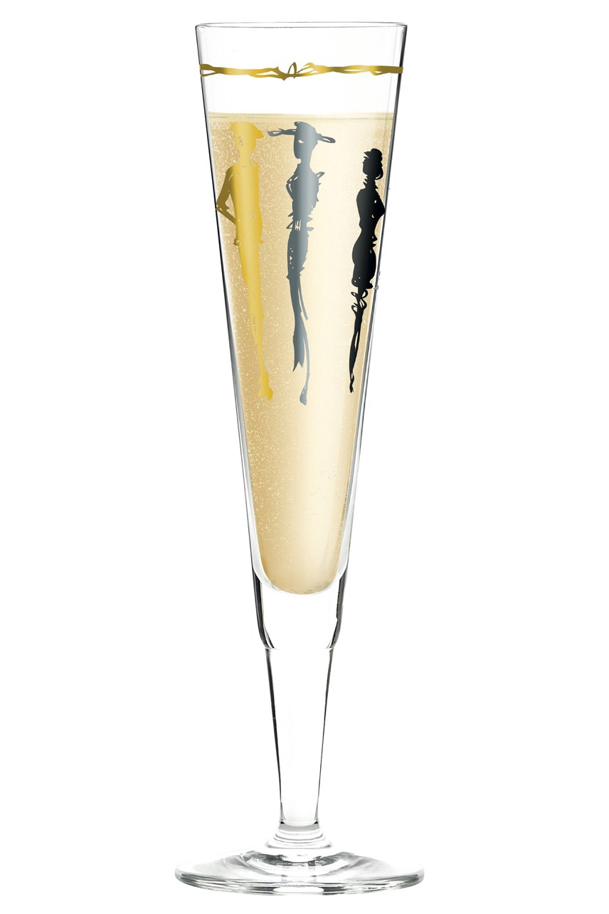 Champus Champagne Flute by Esser'Design