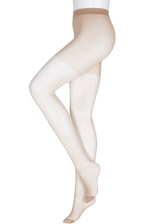 Extra Bella Sheer Fuller Figure Tights - naturel