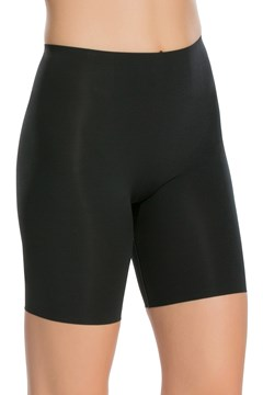 Thinstincts Mid-Thigh Short VERY BLACK 1