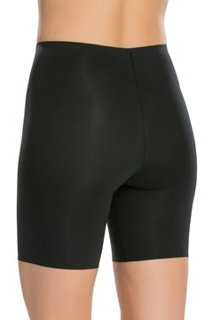 Thinstincts Mid-Thigh Short - very black