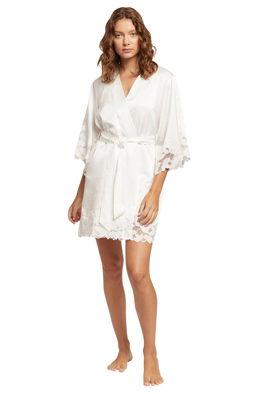 Leila Silk Robe