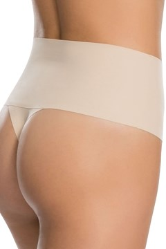 Undie-tectable Thong Brief - soft nude