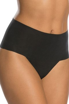 Undie-tectable Thong Brief VERY BLACK 1