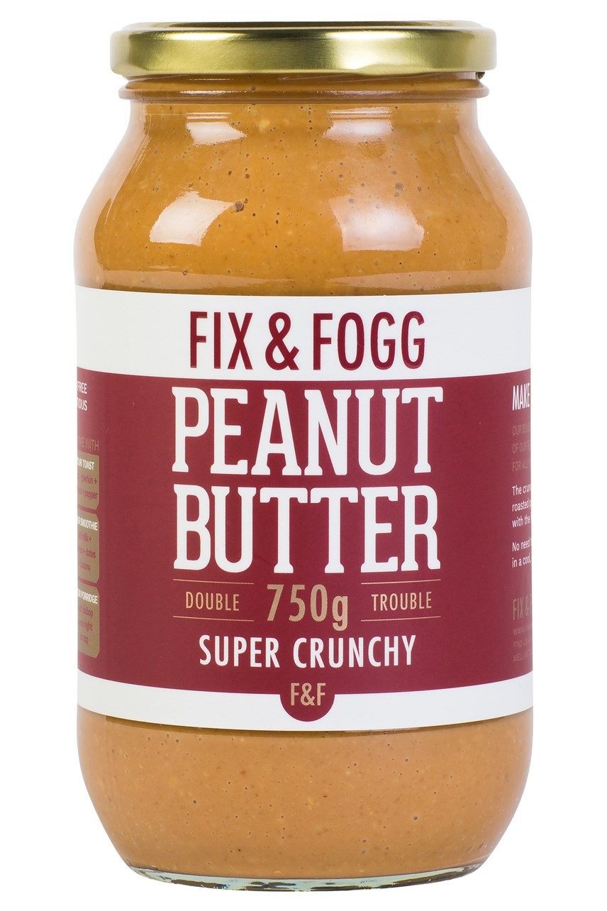 Super Crunchy Double Trouble Peanut Butter