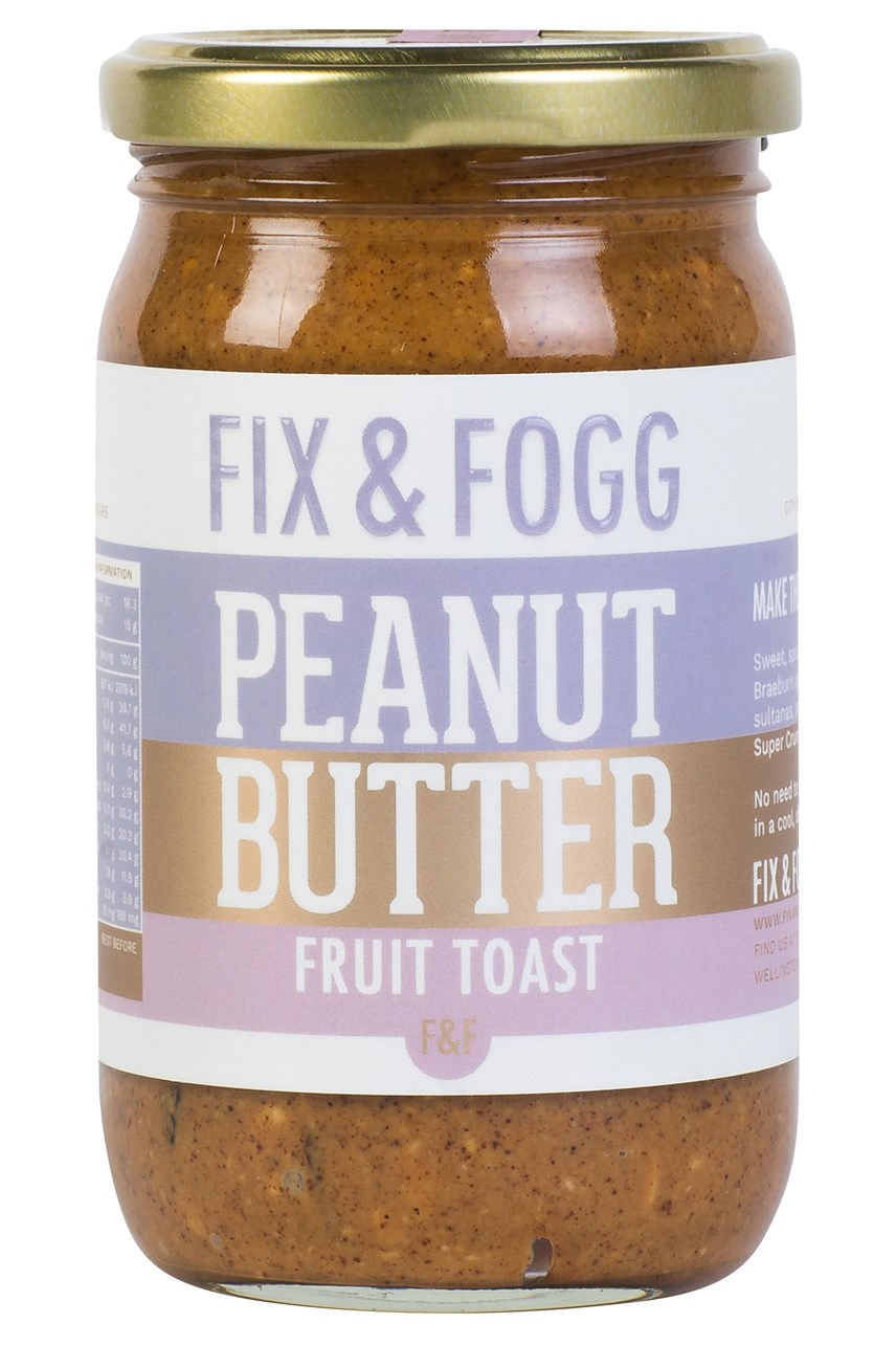Fruit Toast Peanut Butter