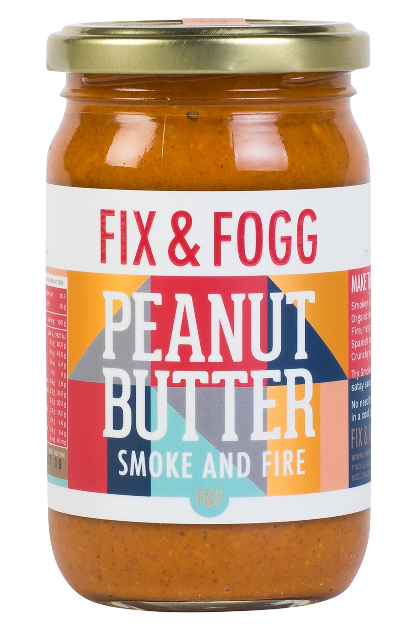 Smoke And Fire Peanut Butter