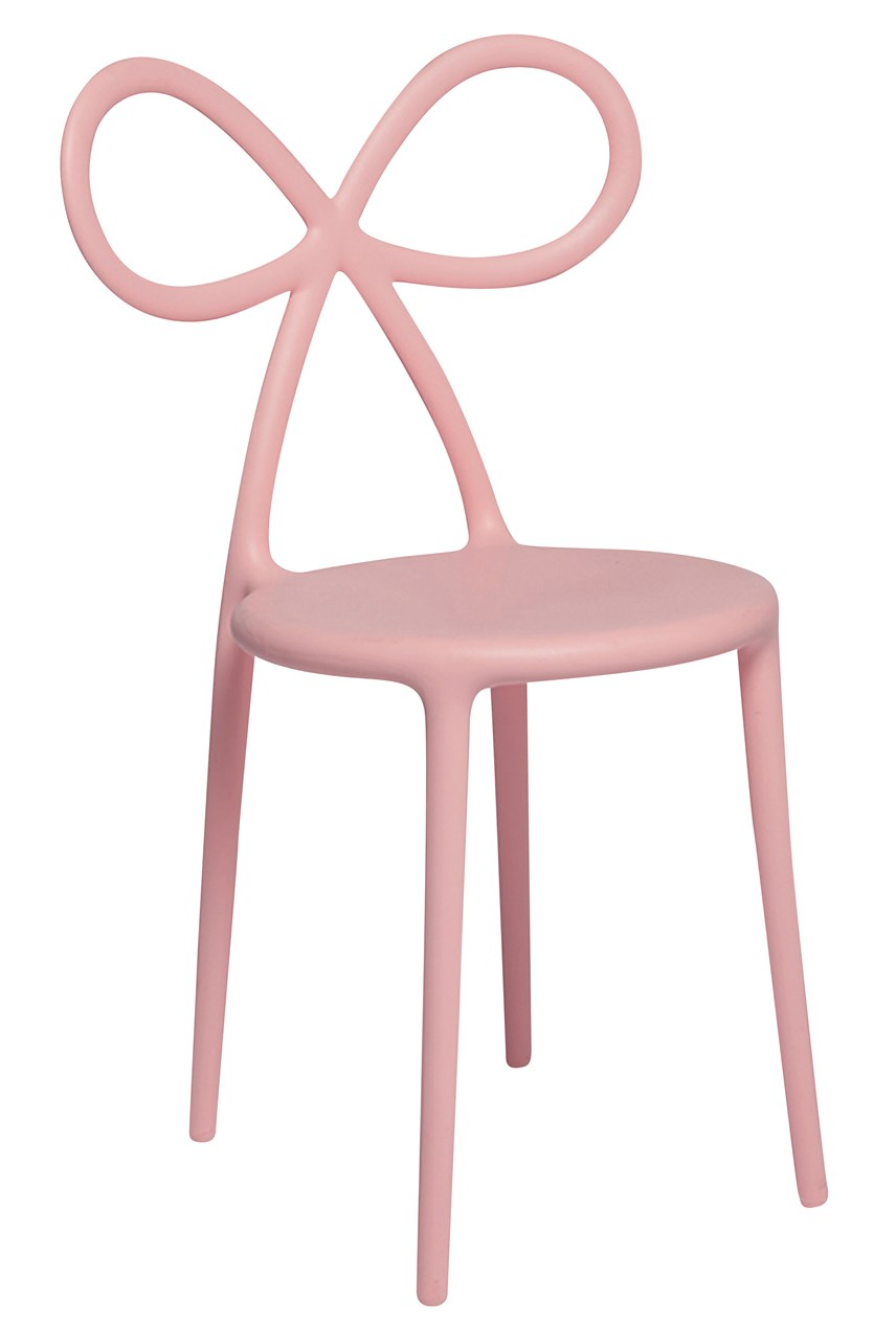 Ribbon Chair - Pink