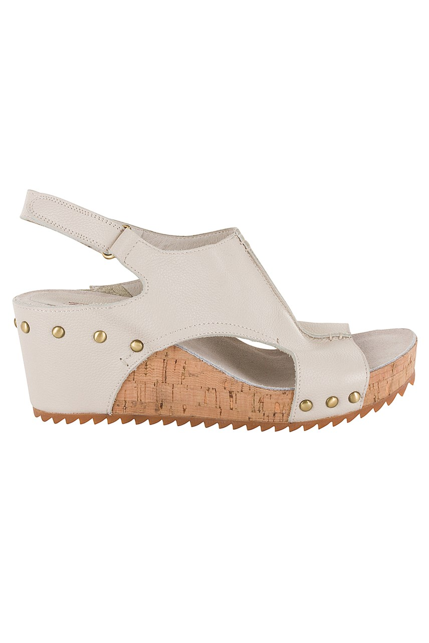 Scotch Leather Wedge Sandal