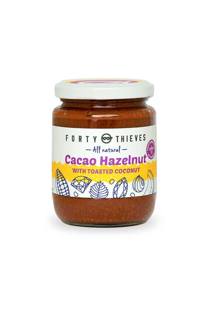 Cacao Hazelnut With Toasted Coconut