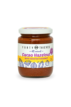 Cacao Hazelnut With Toasted Coconut -