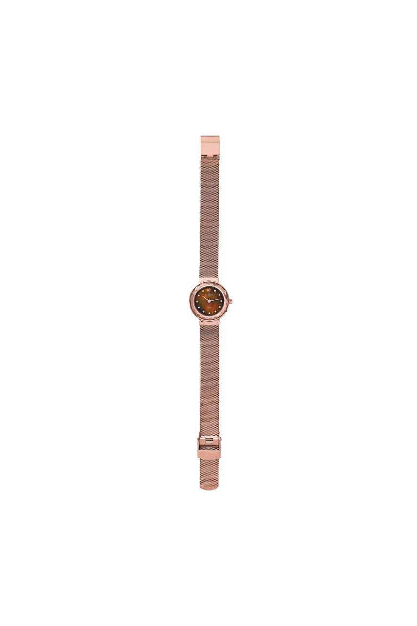Women's Leonora Rose Gold-Tone Analogue Watch