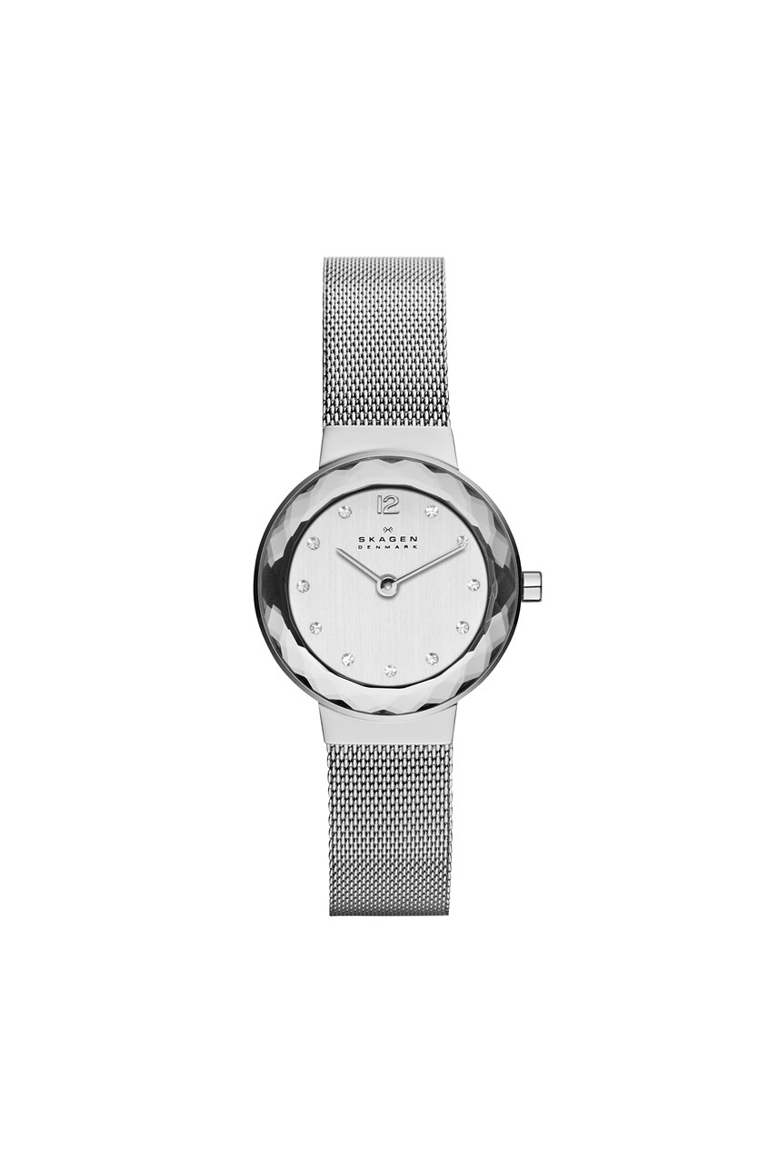 Women's Leonora Silver-Tone Analogue Watch