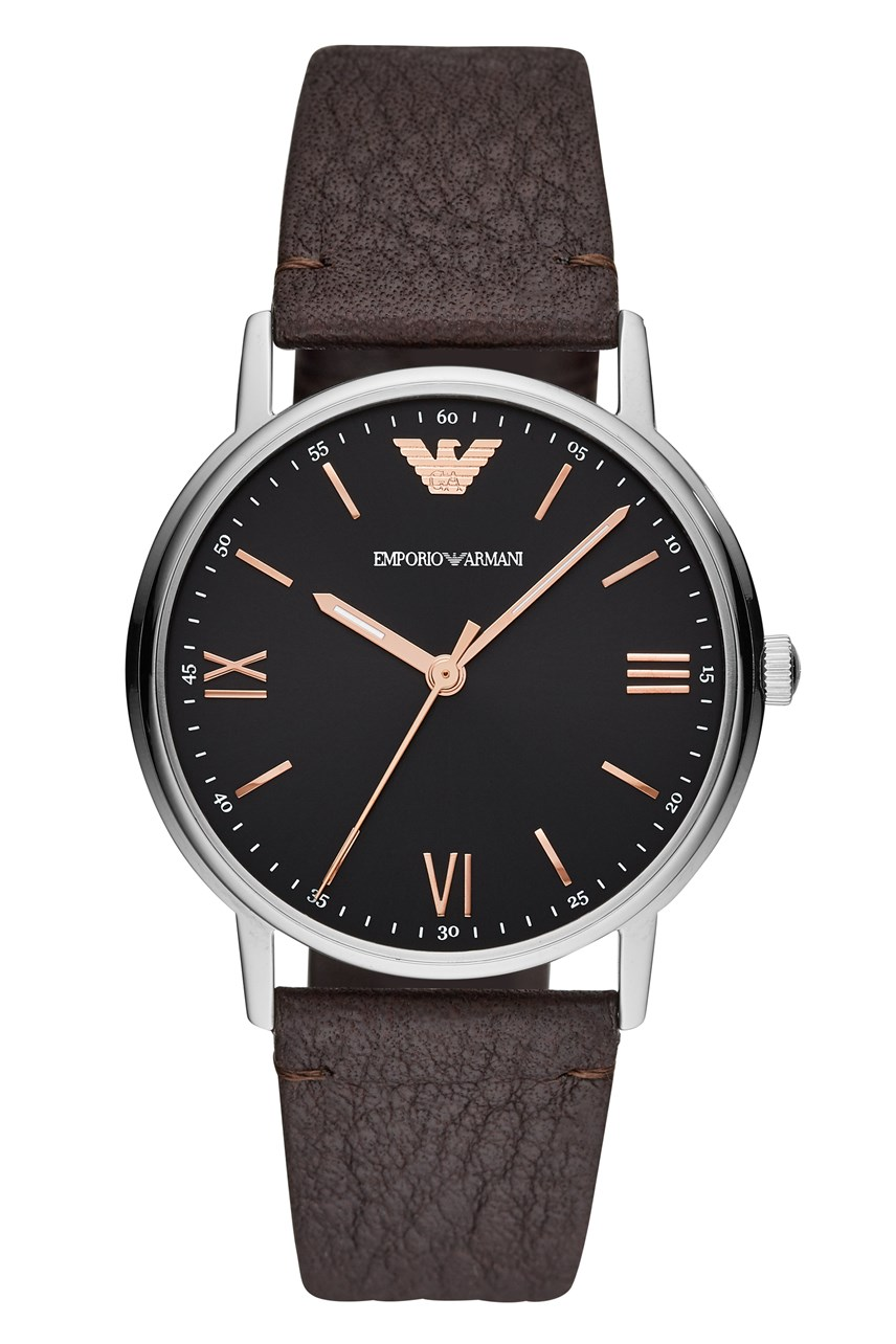 Men's Brown Analogue Watch