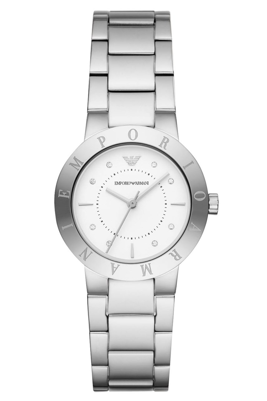 Women's Silver-Tone Analogue Watch