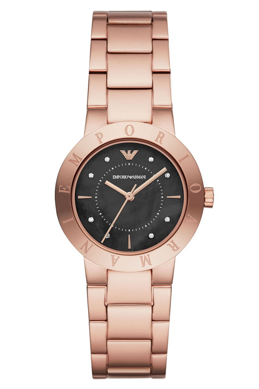 Women's Rose Gold-Tone Analogue Watch