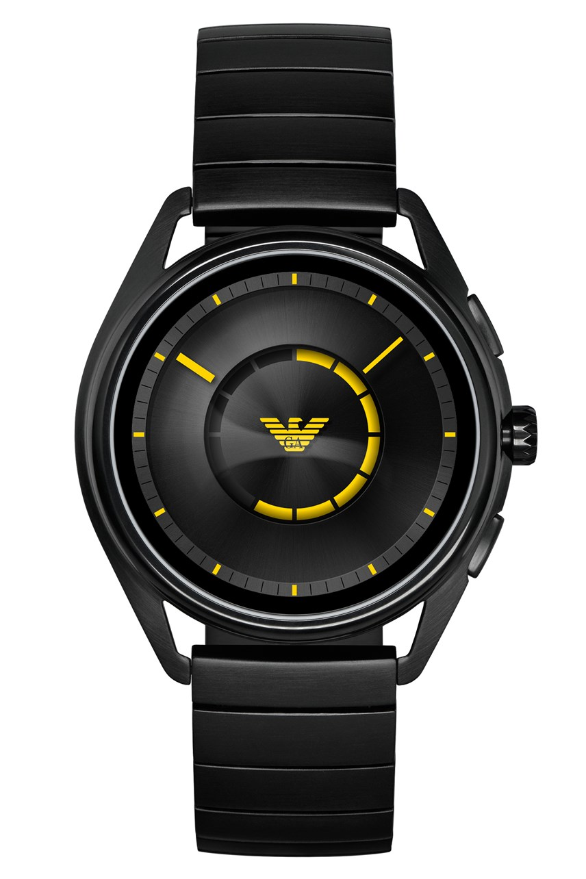Men's Black Smartwatch