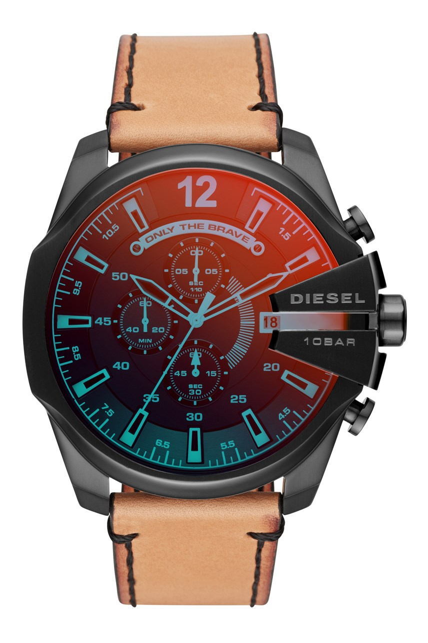 Men's Mega Chief Brown Analogue Watch